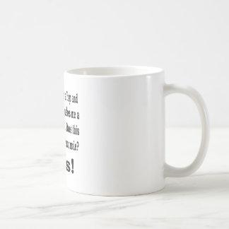 Weiblicher Lisp Kaffeetasse