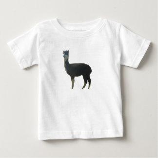 Weibliches Alpaka Baby T-shirt