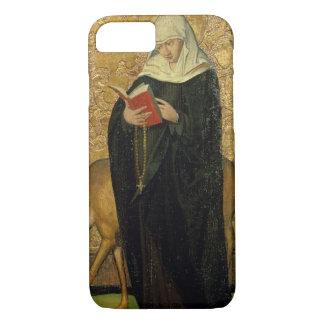 Weibliches Heiliges mit einem Hirsch (Öl auf iPhone 8/7 Hülle