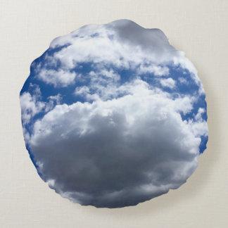 Weich als Wolke Rundes Kissen