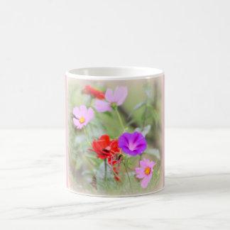 Weiche Blumenstrauß-Tasse Kaffeetasse