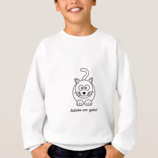 Weiche Katze Sweatshirt