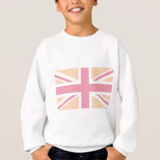 weiche rosa Flagge Gewerkschafts-Jack-Briten Sweatshirt
