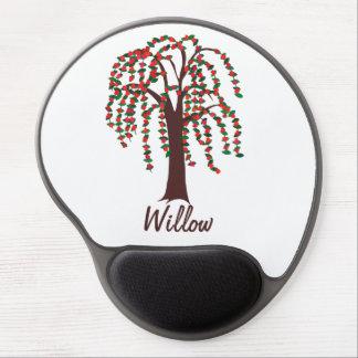 Weide-Baum mit den Herzen - kundengerecht Gel Mouse Pad