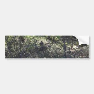 Weide-Bäume Autoaufkleber