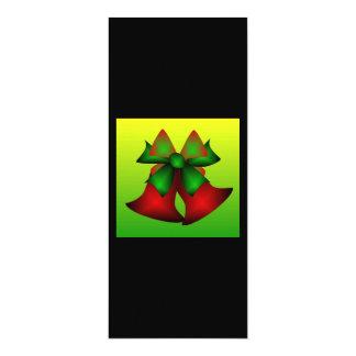 Weihnachten Bell 10,2 X 23,5 Cm Einladungskarte