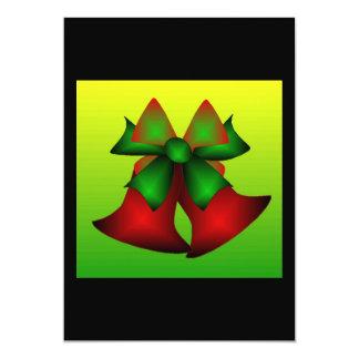 Weihnachten Bell 12,7 X 17,8 Cm Einladungskarte