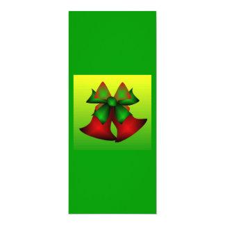 Weihnachten Bell I 10,2 X 23,5 Cm Einladungskarte