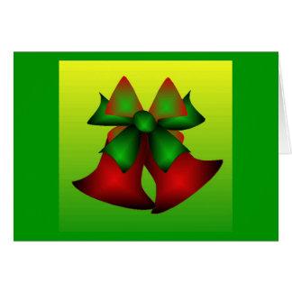 Weihnachten Bell I Grußkarte