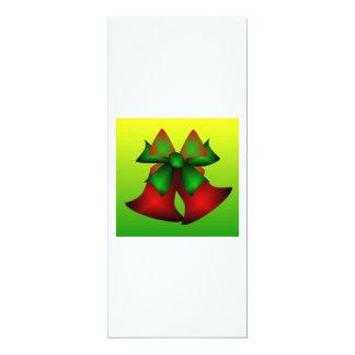 Weihnachten Bell III 10,2 X 23,5 Cm Einladungskarte