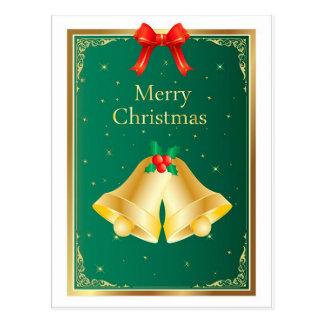 Weihnachten Bell Postkarte