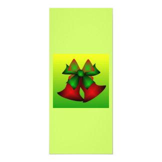 Weihnachten Bell V 10,2 X 23,5 Cm Einladungskarte