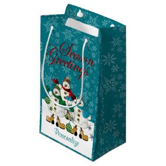 Weihnachten der kleine geschenktüte