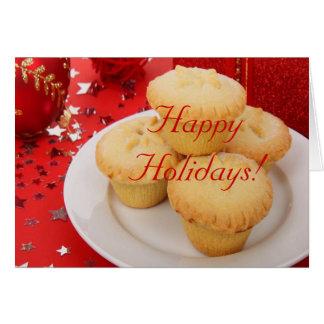 Weihnachten frohe Feiertage ich