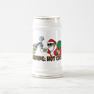 Weihnachten-Heißer Kakao Stein Bierglas
