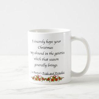Weihnachten kann Überfluss haben Kaffeetasse