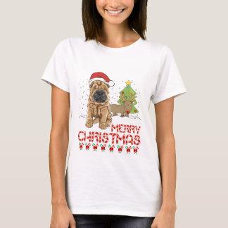 Weihnachten Shar Pei T-Shirt