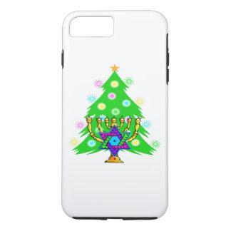 Weihnachten und Chanukka iPhone 8 Plus/7 Plus Hülle