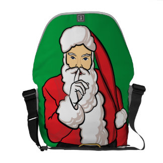 Weihnachten Weihnachtsmann Kurier Tasche