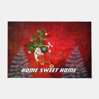 Weihnachten, Weihnachtsmann Türmatte