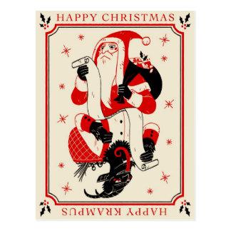 WeihnachtenKrampus Karte - Liste Postkarte