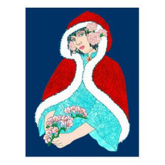 Weihnachtsarabeske Postkarten