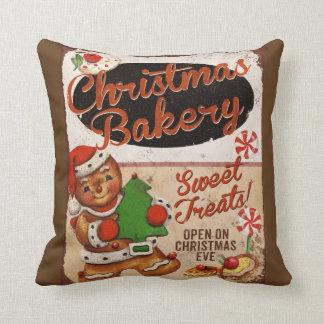 Weihnachtsbäckerei-Lebkuchen-Wurfs-Kissen Kissen