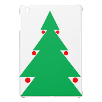 Weihnachtsbaum-Entwurf 8,5 durch 8,5 am 21. iPad Mini Hülle