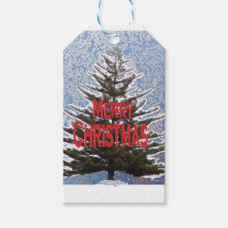 Weihnachtsbaum Geschenkanhänger