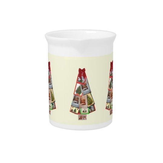 Weihnachtsbaum Getränke Pitcher