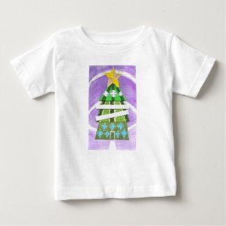 Weihnachtsbaum-Hotel-Baby-T - Shirt