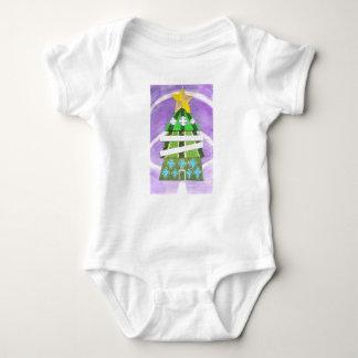 Weihnachtsbaum-Hotel Babygro Baby Strampler