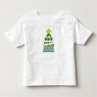 Weihnachtsbaum-Hotel kein Hintergrund-Kleinkind-T Kleinkind T-shirt