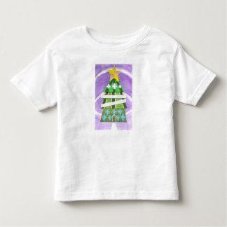 Weihnachtsbaum-Hotel-Kleinkind-T - Shirt