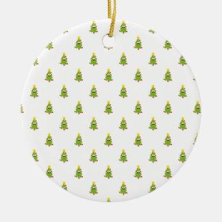 Weihnachtsbaum Keramik Ornament