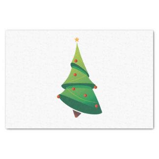 Weihnachtsbaum-Seidenpapier Seidenpapier