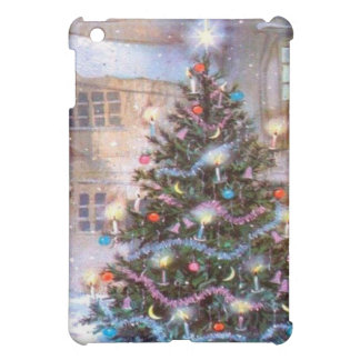 Weihnachtsbaum Vintag iPad Mini Hülle