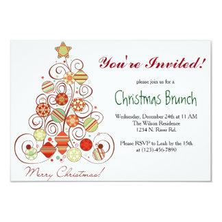 WeihnachtsBrunch 8,9 X 12,7 Cm Einladungskarte