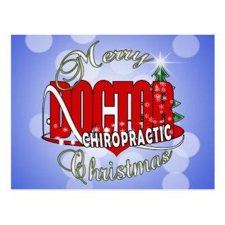 WEIHNACHTSchiropraktik-DOKTOR Postkarte