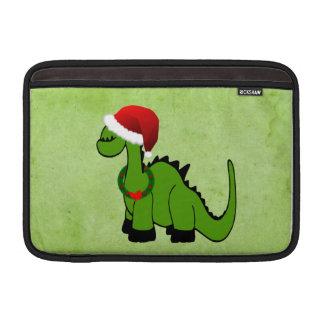 Weihnachtsdinosaurier MacBook Sleeve
