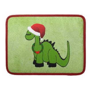 Weihnachtsdinosaurier Sleeve Für MacBooks