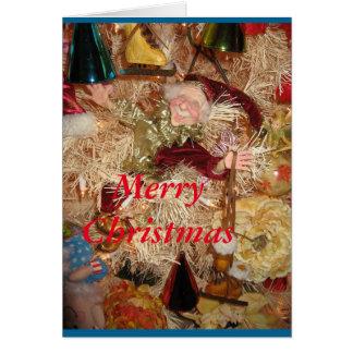 Weihnachtself Karte