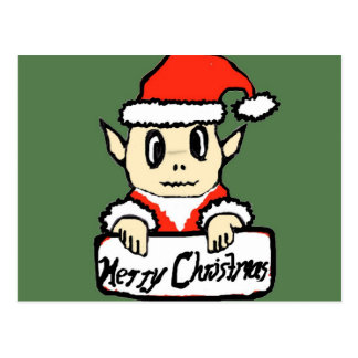 Weihnachtself Postkarte