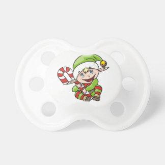 Weihnachtself Schnuller