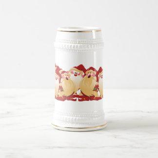 Weihnachtselfe Bierglas