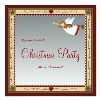 Weihnachtsengel (2) Einladungen