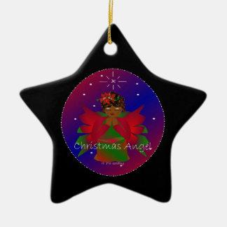 Weihnachtsengels-Baby auf der ganzen Welt in Schwa Weihnachtsornament