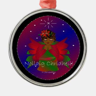 Weihnachtsengels-Baby Nollaig Chridheil IV Weihnachtsbaum Ornamente