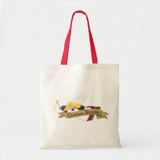 Weihnachtsengels-Einkaufen/Geschenk-Taschen Tragetasche