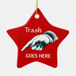 Weihnachtsfeiertags-Party-Dekoration Keramik Ornament